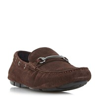 Dune Balham Snaffle Driver Loafer Brown