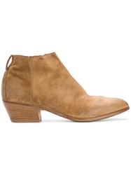Moma Satuna Ankle Boots Brown