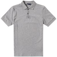 Lanvin L Logo Polo Grey