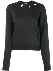 Saint Laurent Basic Sweatshirt Black
