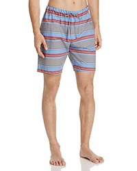 Hanro Evan Woven Stripe Shorts Horizontal Stripe