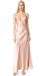 Alix Allen Slip Dress Champagne