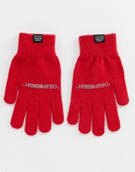 Cheap Monday Red Magic Gloves