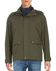Brooks Brothers 3 In 1 Anorak Jacket Green