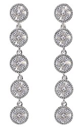 Ted Baker Women's London 'Rizza' Crystal Drop Earrings Silver Crystal