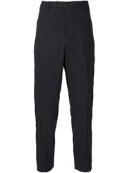 Camoshita By United Arrows Flat Front Suit Pants Grey