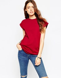 Asos The Ultimate Easy T Shirt Red
