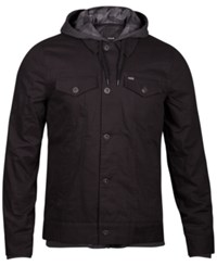 Hurley Men's Trucker 2.0 Jacket Black