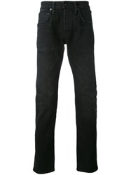 Edwin Tapered Jeans Men Cotton Polyester Spandex Elastane 33 Black