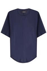Joseph Cotton T Shirt Blue