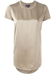 Ralph Lauren Panelled Blouse Nude And Neutrals