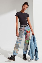 Urban Renewal Recycled Quilted Patched Levia S Jean Indigo