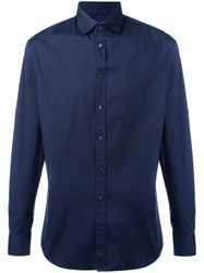 Dsquared2 Tailored Shirt Blue