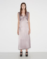 Simone Rocha Silk Satin Dress Lilac