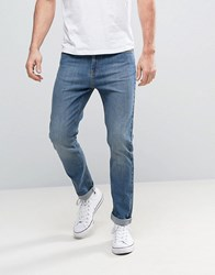 Kiomi Tapered Fit Jeans Light Blue