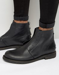 Shoe The Bear Graham Leather Boots Black