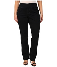 Jag Jeans Plus Size Pull On Straight In After Midnight After Midnight Women's Jeans Black