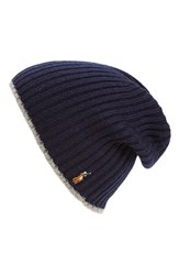 Polo Ralph Lauren Men's Classic Merino Wool Cap Blue Hunter Navy