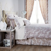 Christy Mosaic Taupe Duvet Cover King