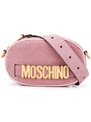 Moschino Logo Belt Bag Pink