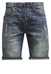 Chasin' Ego S Denim Shorts Graves Destroyed Denim