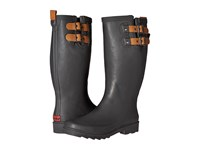 Chooka Top Solid Rain Boot Dark Gray Women's Rain Boots