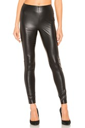 1.State Stretch Faux Leather Legging Black