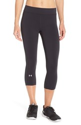Women's Under Armour Heatgear Capris Black