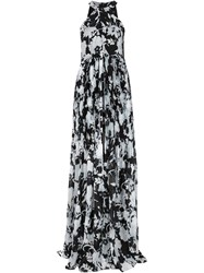 Thakoon Halter Neck Gown Dress White