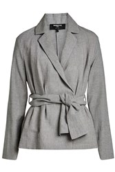 Paule Ka Jacket With Linen And Cotton