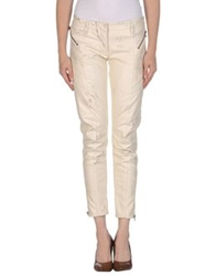 Pierre Balmain Casual Pants Ivory
