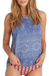 Billabong Women's My Own Bandana Print Muscle Tank