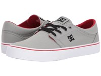 Dc Trase Tx Grey Red Skate Shoes Multi