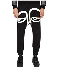 Haculla All Eyes On Me Harem Pants Black Men's Casual Pants