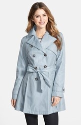 Petite Women's Laundry By Shelli Segal Double Breasted Trench Coat