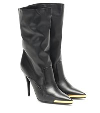 Stella Mccartney Faux Leather Ankle Boots Black