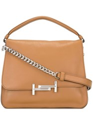 Tod's Trapeze Tote Nude And Neutrals
