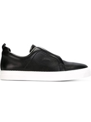Pierre Hardy 'Slider' Slip On Sneakers Black