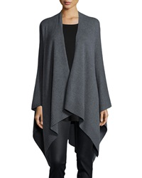 Eileen Fisher Cozy Luxe Poncho Cardigan Petite