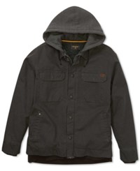 Billabong Men's Barlow Coat With Faux Fur Lining Stealth