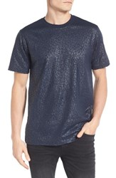 Eleven Paris Men's Elevenparis Gatrick Crackled Print T Shirt