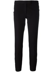 Joseph Tailored Cropped Trousers Black