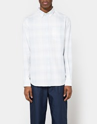 Norse Projects Osvald Light Check Pale Blue