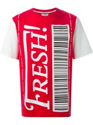 Opening Ceremony 'Fresh ' Print T Shirt Red