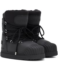 Moncler X Moon Boot Uranus Ankle Boots Black