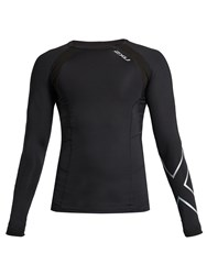 2Xu Compression Long Sleeved Performance Top Black Multi