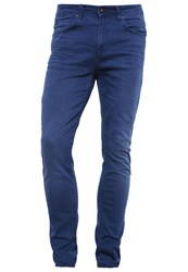 Pier One Slim Tapered Slim Fit Jeans Blue Denim