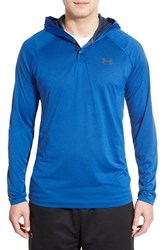 Men's Under Armour 'Ua Tech' Long Sleeve Hooded Henley