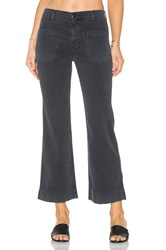 The Great Cropped Mariner Jean Charcoal
