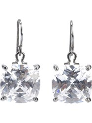 Bottega Veneta Zircon Pendant Earring Metallic